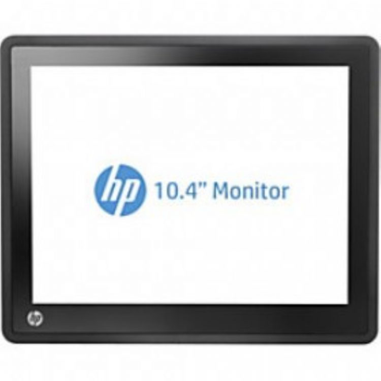 """MONITOR TOUCH HP L6010 LED 10.4""""  D-SUB/DVI-D/DISPLAY PORT/AUDIO IN/USB IN"""
